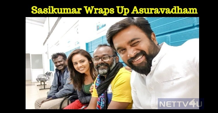 Sasikumar Wraps Up His Next!