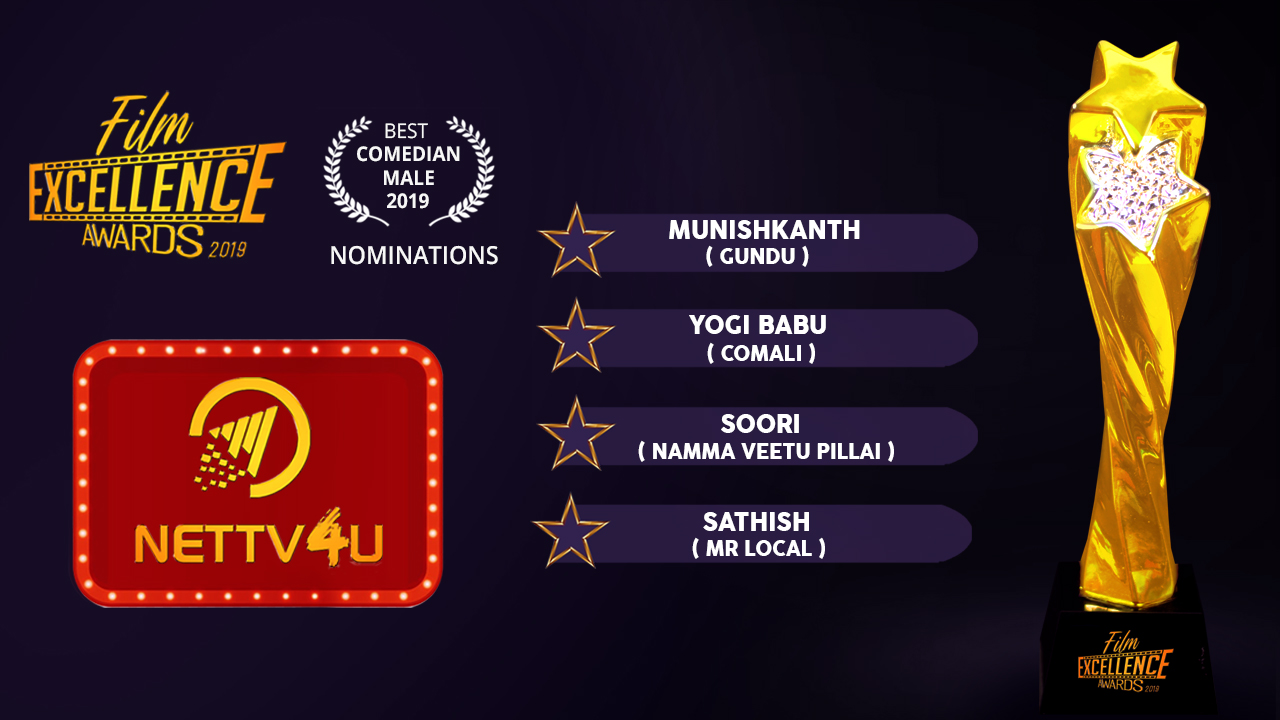 Best Comedy Actor Tamil 2019