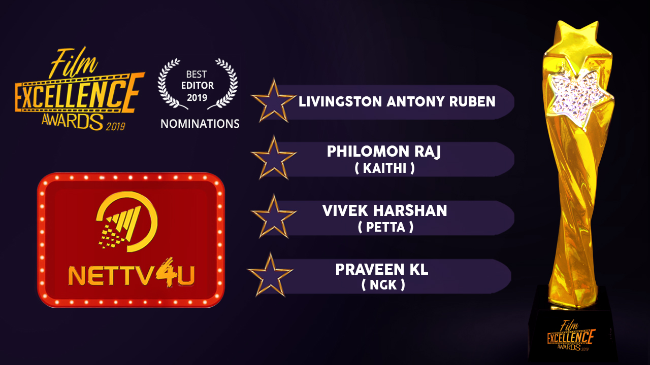 Best Editor 2019 Tamil