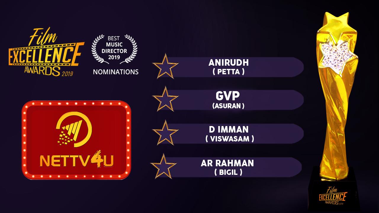 Best Music Director 2019 Tamil