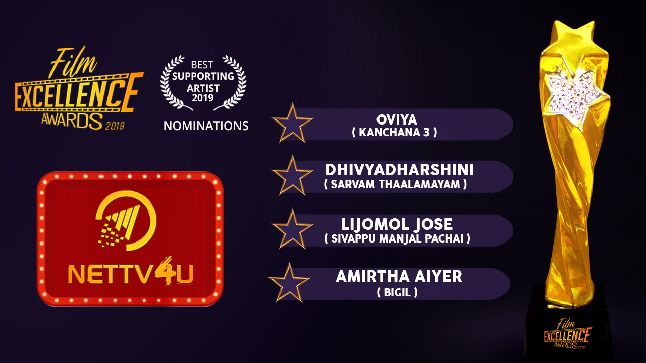 Best Supporting Actor Female 2019 - Tamil