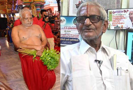 Social Activist Traffic Ramaswamy Manhandled By Amma Devotees!