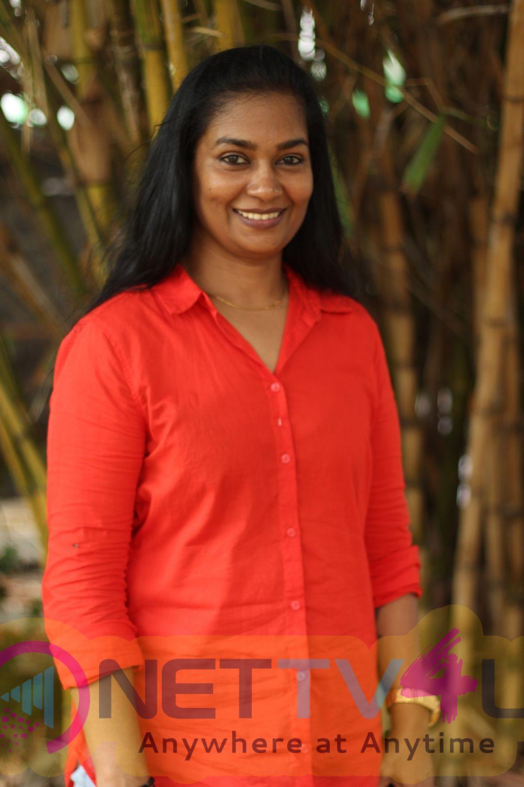 Actress Aadhira Pandilakshmi Exclusive Interview Stills