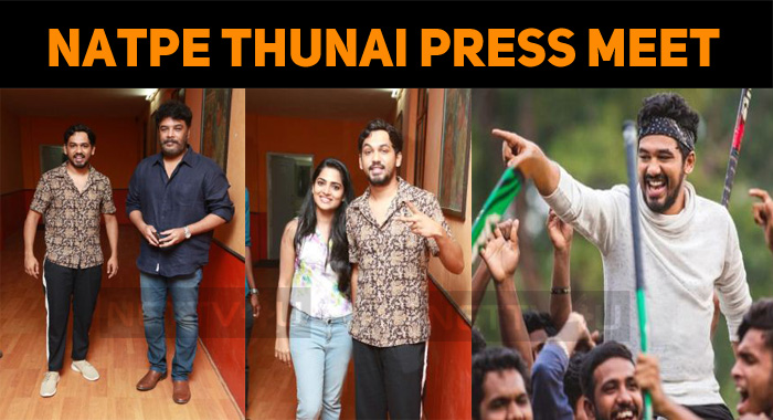 Natpe Thunai Team Press Meet!