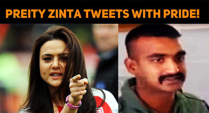 Preity Zinta Tweets With Pride! Welcomes Abhinandan!