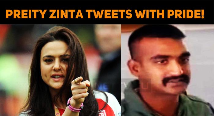 Preity Zinta Tweets With Pride! Welcomes Abhina..