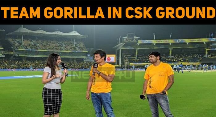 Team Gorilla In CSK Ground!