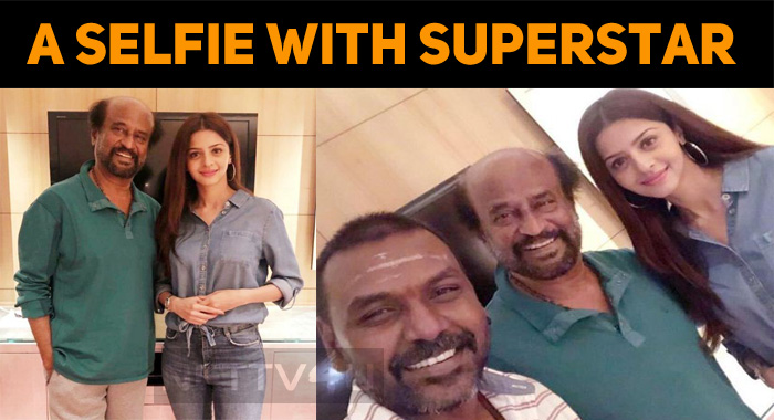 Vedhika's Selfie Moment With Superstar!