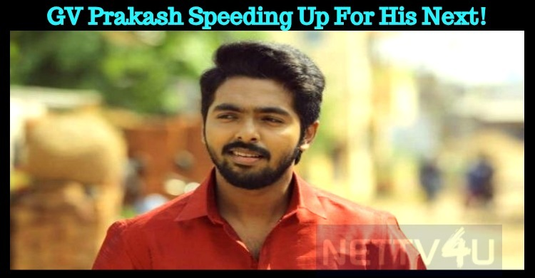 GV Prakash Speeding Up For Vasanthabalan Movie!