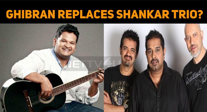 Ghibran Replaces Shankar Mahadevan?