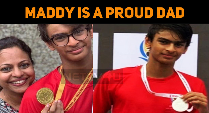 Maddy's Son Grabs Medals In National Level!