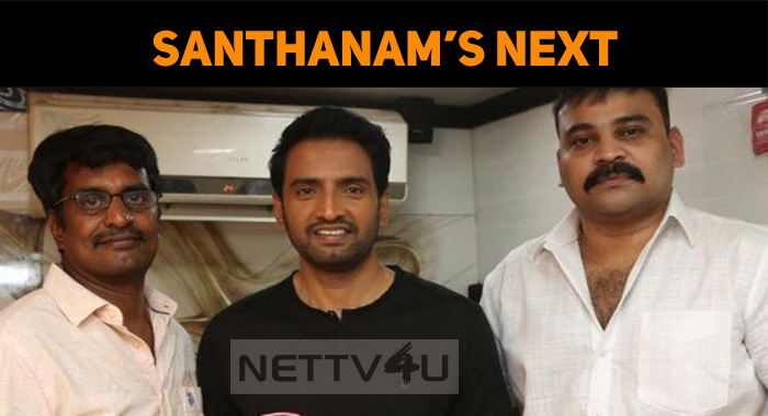 Santhanam's Next Film Details Out!