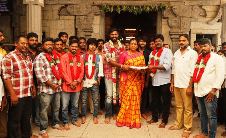 Shanmugha Pandian New Movie Pooja Images Tamil Gallery