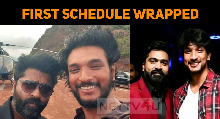 Simbu Wraps Up The First Schedule Of His Next!