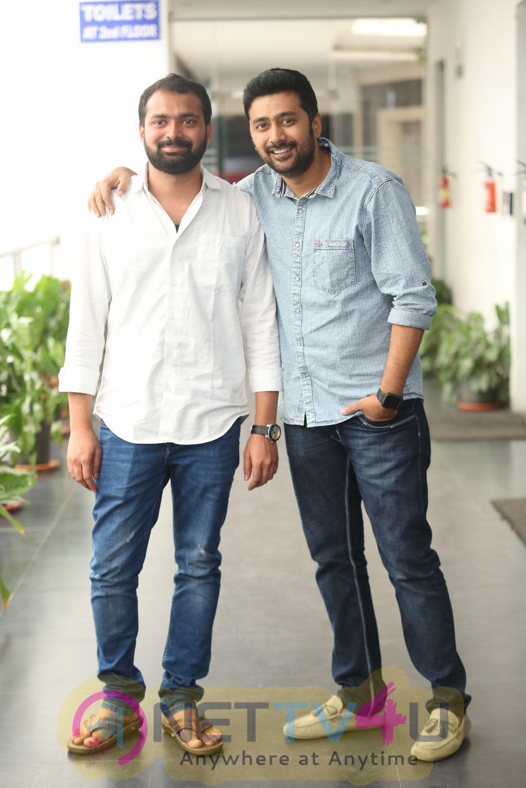 Chi La Sow Movie Press Meet Pics Telugu Gallery