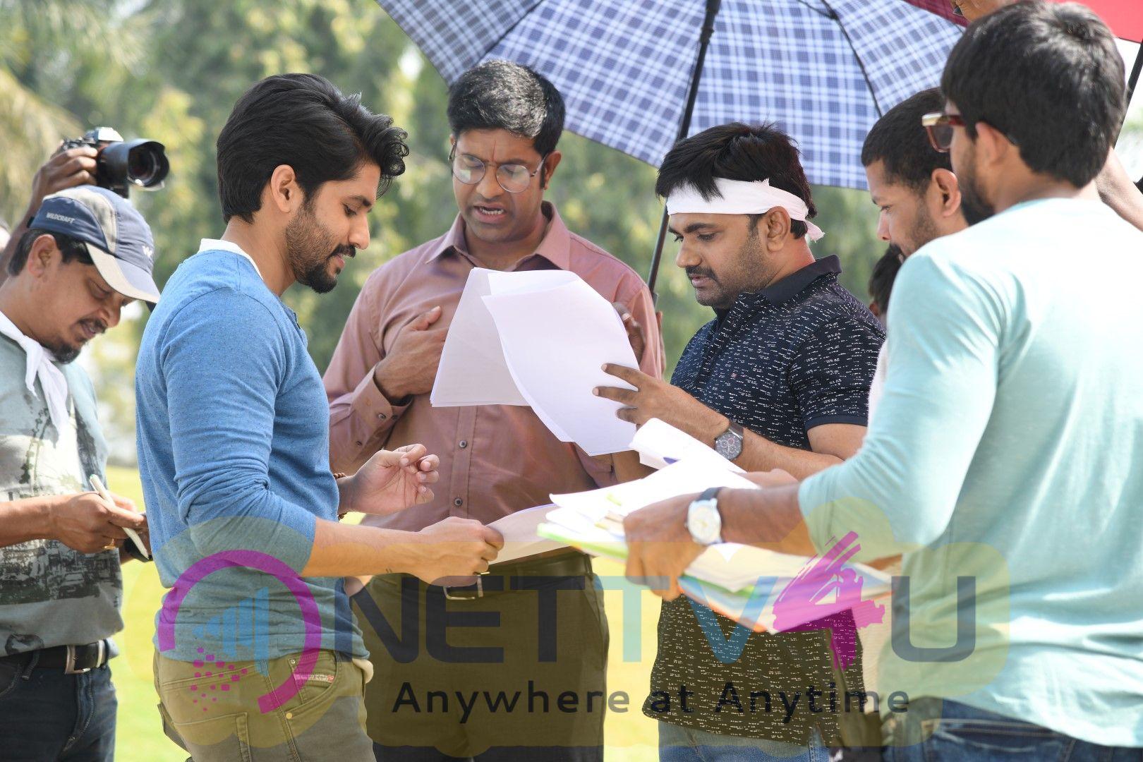 Sailaja Reddy Alludu Movie Making Photos Telugu Gallery