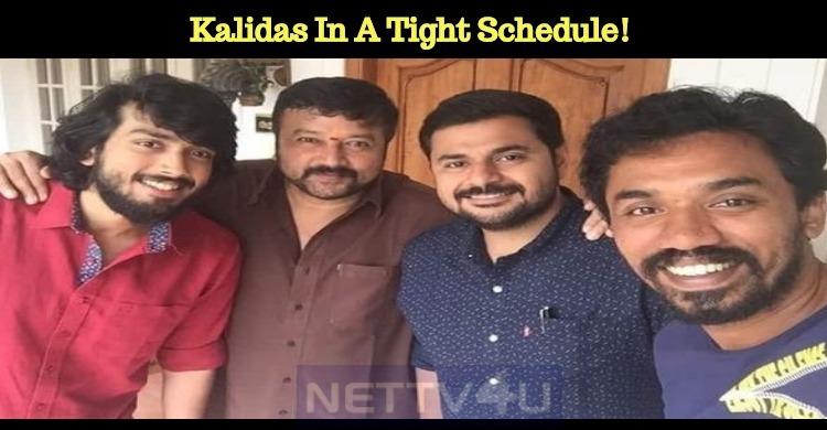 Kalidas In A Tight Schedule!