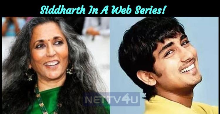 Siddharth In A Web Series!