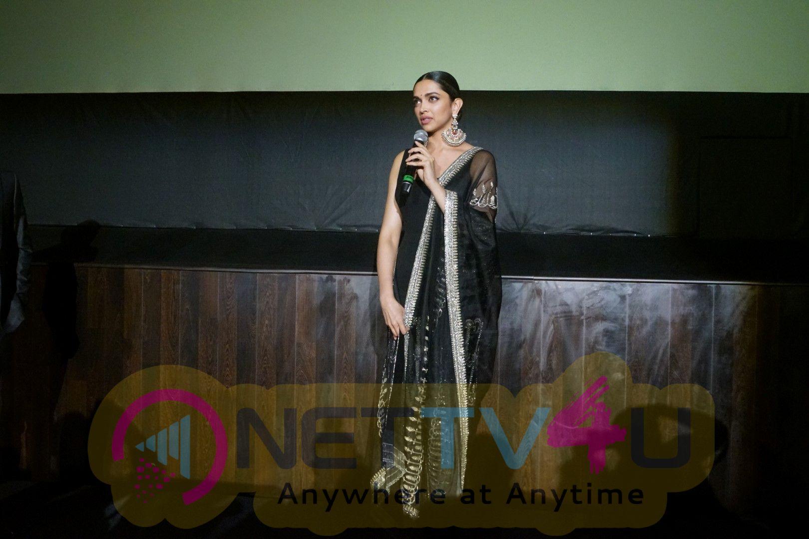 Deepika Padukone At The Padmavati 3D Trailer Launch Images