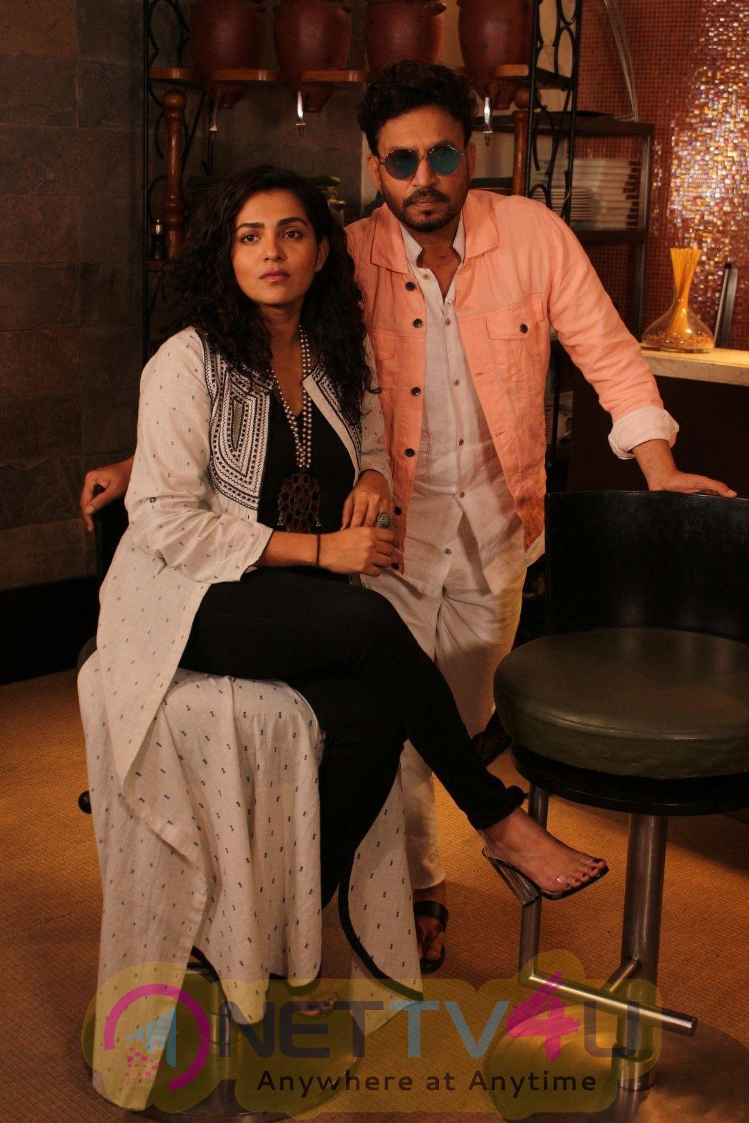 Interview Of Irrfan Khan For The Film Qarib Qarib Singlle Photos