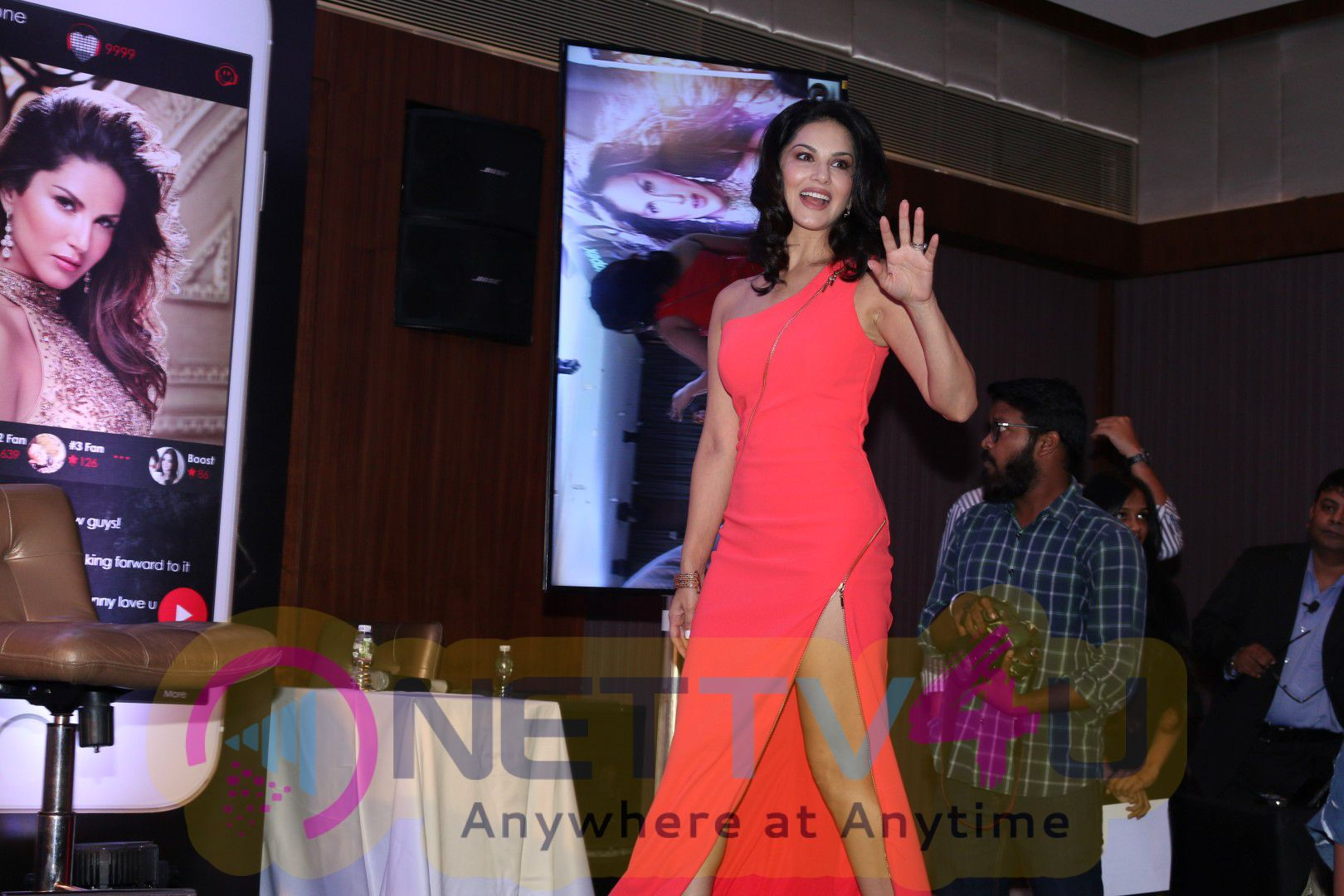 Actress Sunny Leone To Launch Her Own Mobile App Cute Pics Hindi Gallery