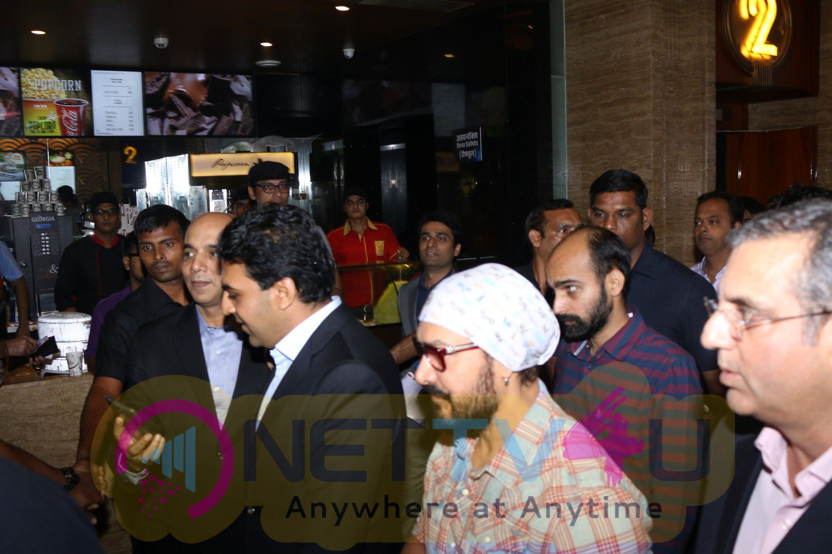 Launch Of New Inox Cinema With Aamir Khan Attractive Photos