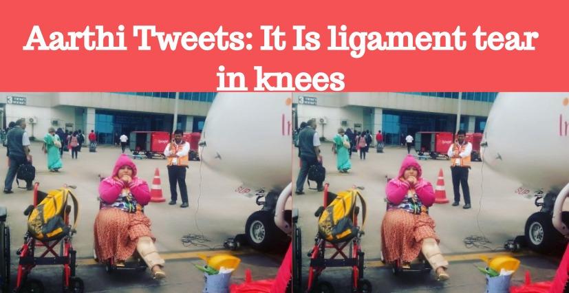 Bigg Boss Aarthi Ganeshkar Suffers From Ligament Tear!