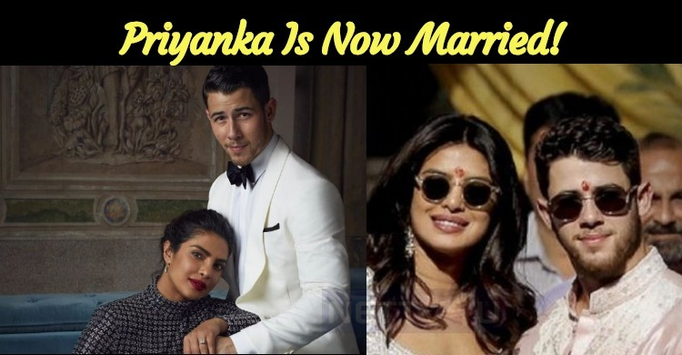 Priyanka Is Now Married!