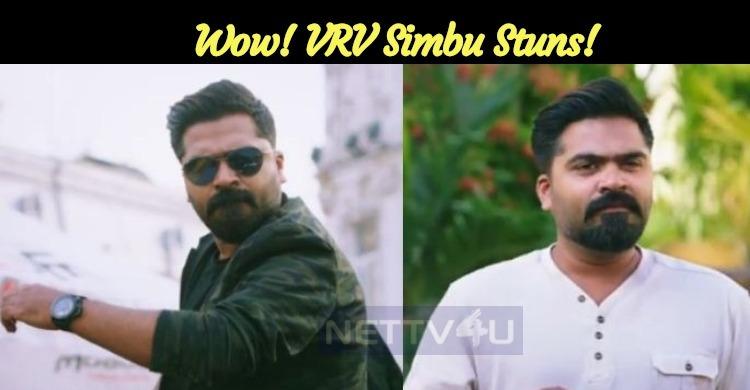 Wow! VRV Teaser Released! Simbu Stuns!