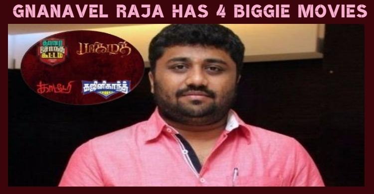 Gnanavel Raja Has Four Movies On Hand!