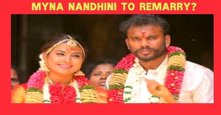 Myna Nandhini To Get Married?