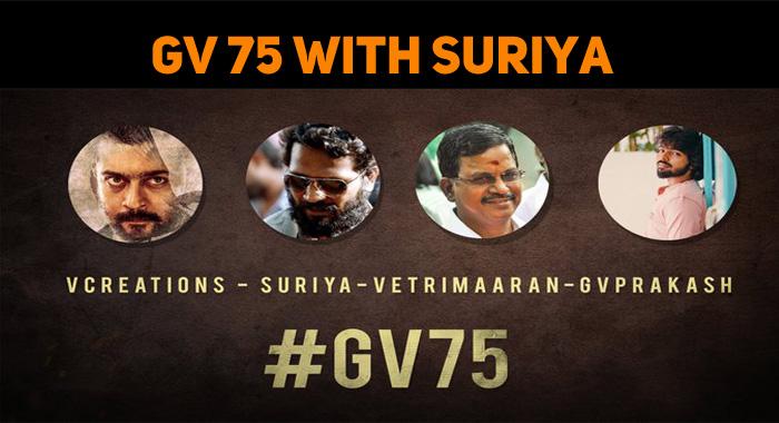 GV Prakash Joins Suriya!