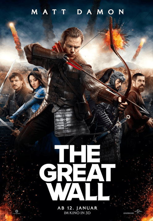 The Great Wall Movie Review English Movie Review