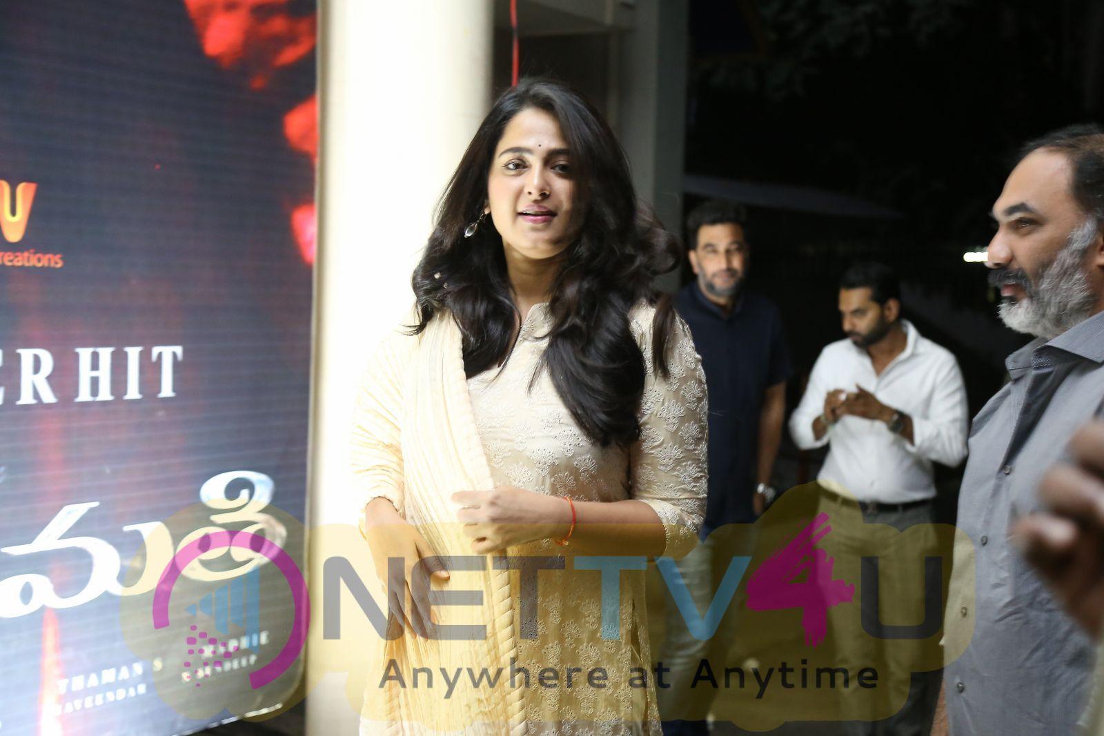 Bhaagamathie Movie Success Meet  Pics Telugu Gallery