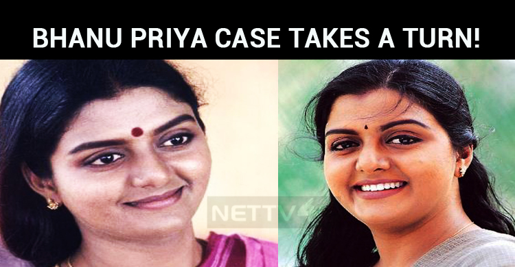 Bhanu Priya Case Takes A Turn!