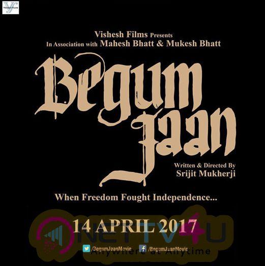 Hindi Movie Begum Jaan Attractive Poster