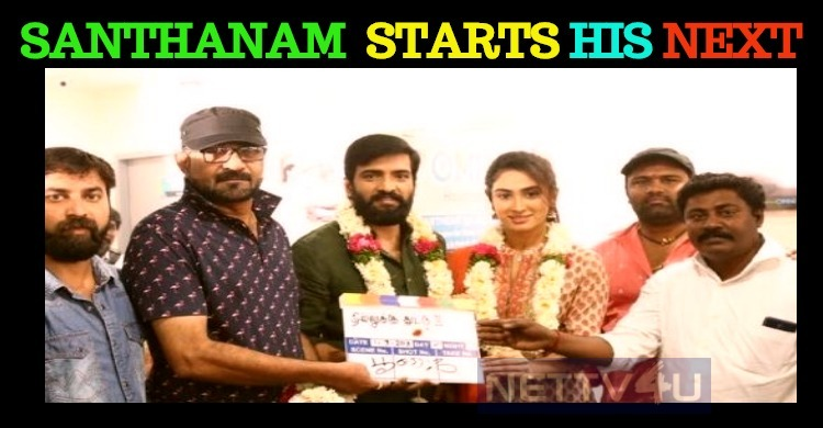 Santhanam Starts Shooting For His Next!