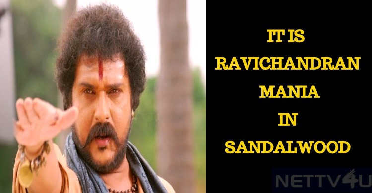 2018 Will Be A Ravichandran Mania In Sandalwood!
