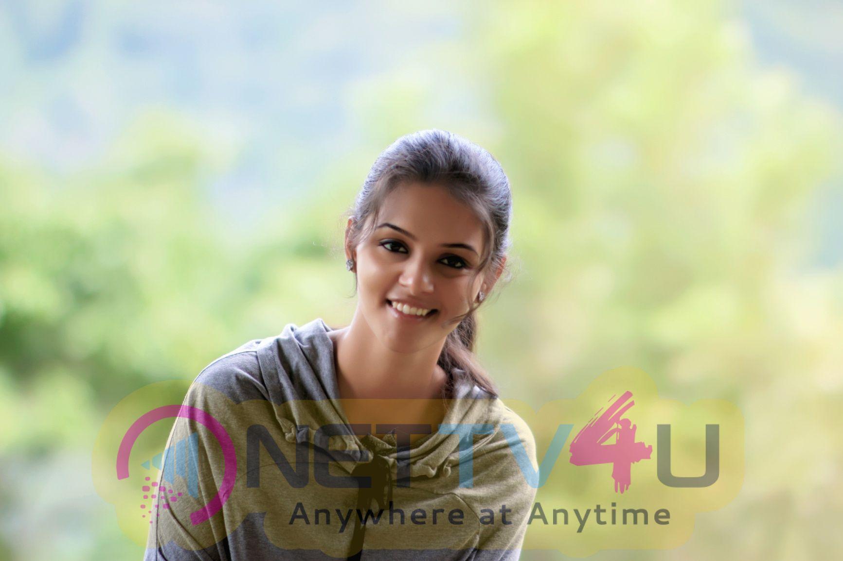 Actress Swathishta Krishnan Good Looking Stills