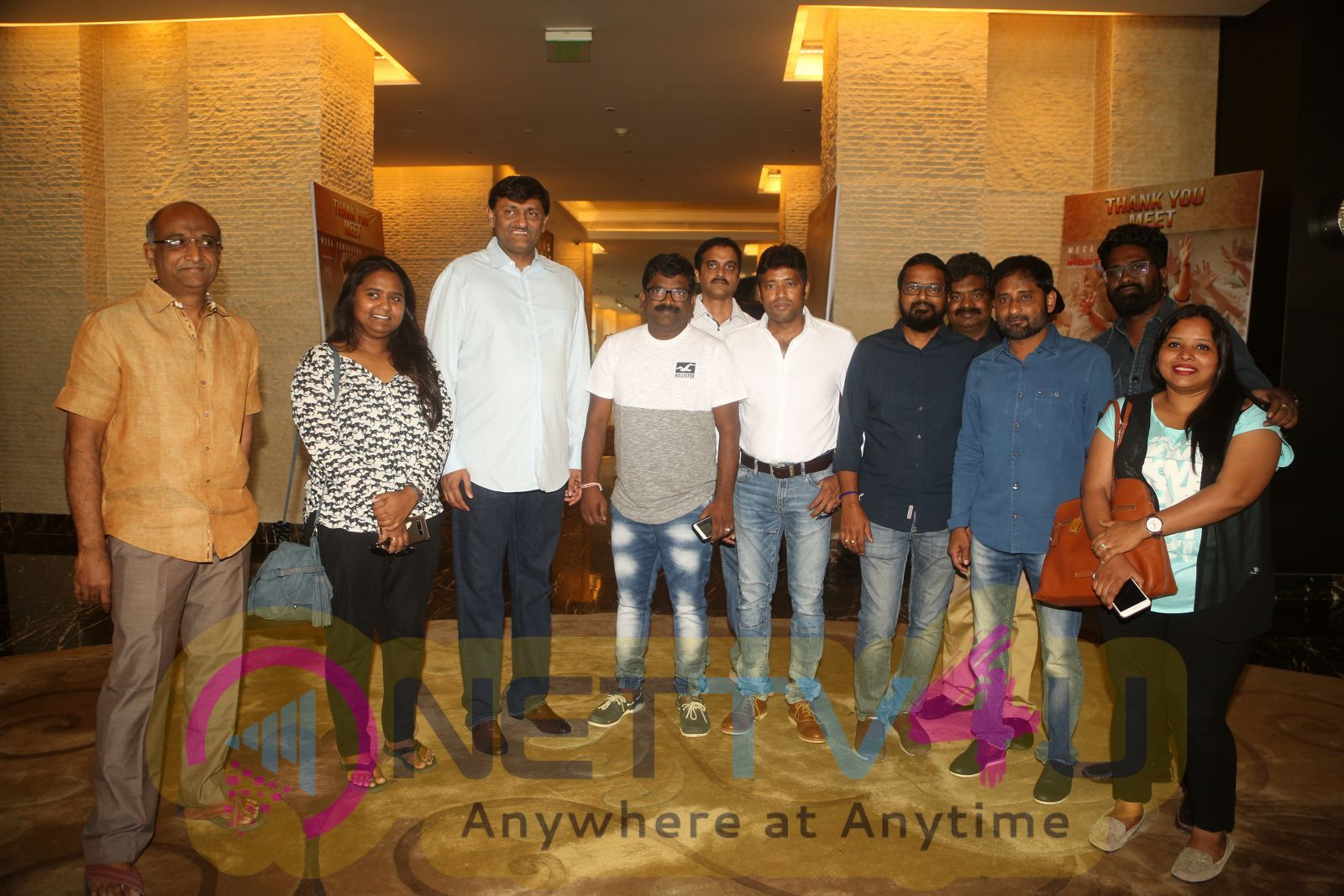 Rangasthalam Movie Thanks Meet Photos