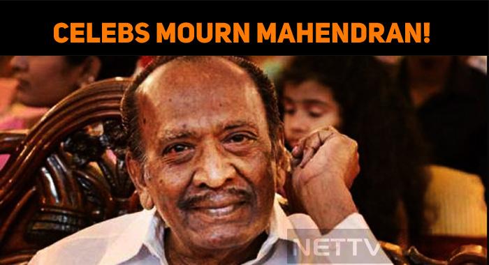 Celebs Mourn Mahendran!