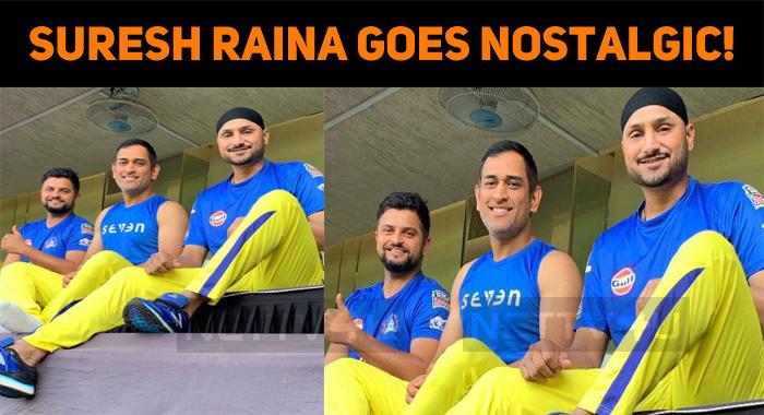 Suresh Raina Goes Nostalgic!
