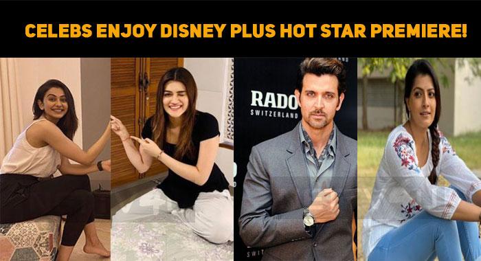 Celebrities Enjoy Disney Plus Hot Star Premiere!