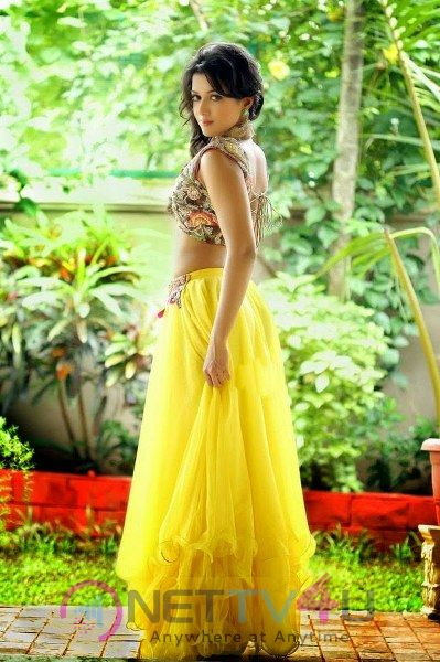 Catherine Tresa Stuns In Yellow Outfit Gorgeous Pics
