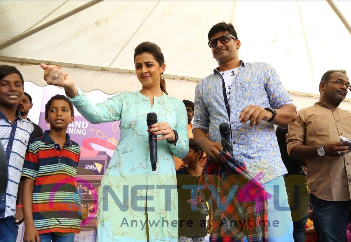 Nikki Galrani At Price Factory Dress Shop Opening Function Stills