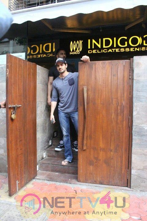 Actor Sooraj Pancholi Came To Bandra