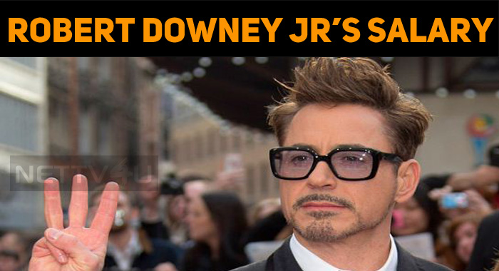 Is This Robert Downey Jr's Salary?