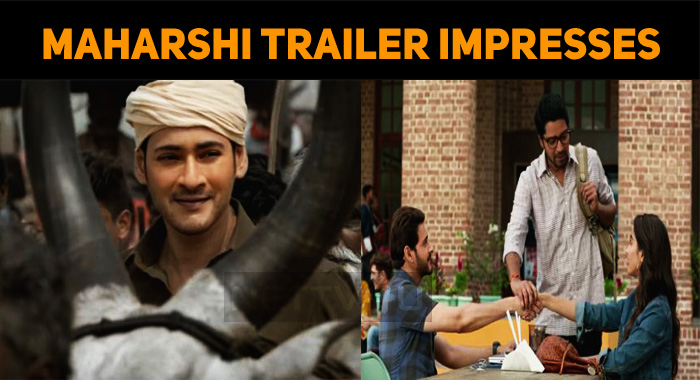 Maharshi Trailer Trending At The Top!