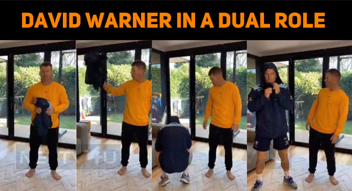 David Warner In A Dual Role For Dhanush Song!