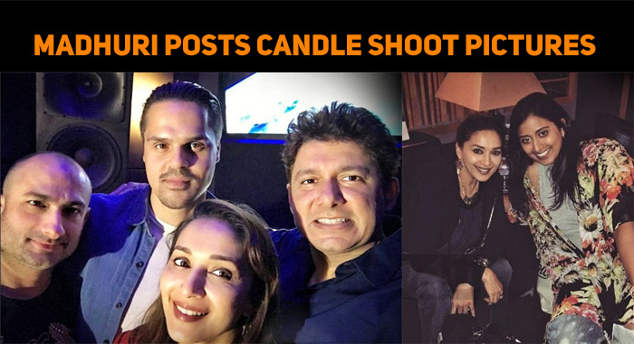 Madhuri Posts Candle Shoot Pictures From LA!